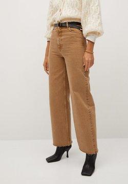 Mango - CASILDA - Flared Jeans - beige
