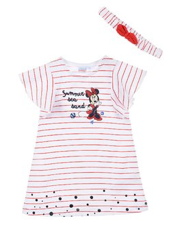 Mickey & Minnie - DISNEY MINNIE MOUSE SET - Jerseykleid - rot
