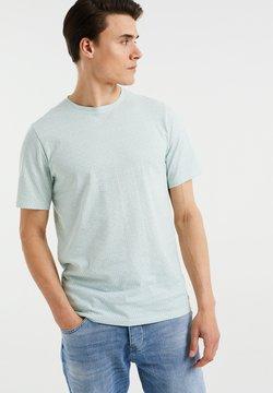 WE Fashion - T-shirt basic - mint green