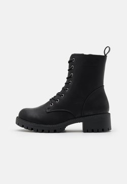 Rubi Shoes by Cotton On - HARLOW LACE UP BOOT - Schnürstiefelette - black