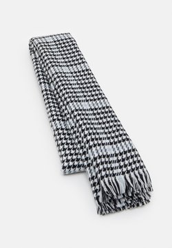 ONLY - ONLSIA SCARF  - Schal - blue fog/black/white
