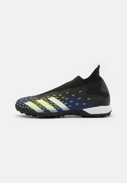 adidas Performance - PREDATOR FREAK .3  - Astro turf trainers - core black/footwear white/solar yellow