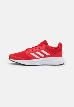 adidas Performance - GALAXY  - Zapatillas de running neutras - vivid red/footwear white/solar red