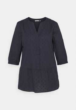 MY TRUE ME TOM TAILOR - BLOUSE TUNIC STYLE - Tunic - sky captain blue