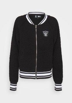 New Era - NFL OAKLAND RAIDERS TRACK JACKET - Article de supporter - black