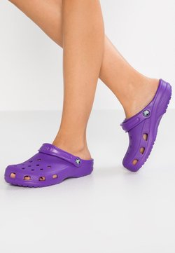 Crocs - CLASSIC - Chaussons - neon purple