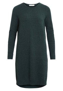Vila - VIRIL DRESS - Gebreide jurk - green