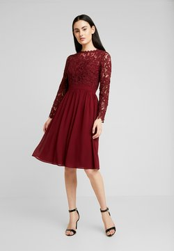 Chi Chi London - LYANA DRESS - Cocktailkleid/festliches Kleid - burgundy