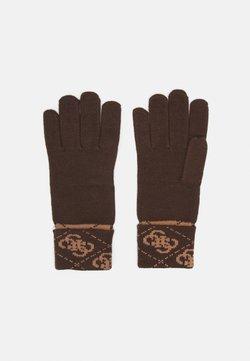 Guess - VEZZOLA GLOVES - Fingerhandschuh - brown