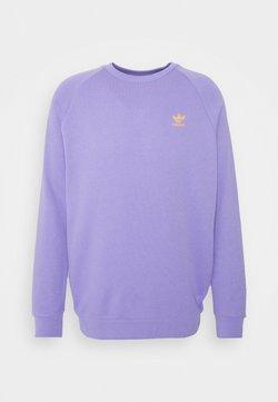 adidas Originals - ESSENTIAL CREW - Sweatshirt - light purple