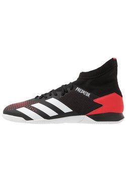 adidas Performance - PREDATOR - Indoor football boots - core black/footwear white/active red