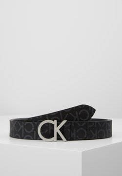 Calvin Klein - MONO BELT - Ceinture - black mono