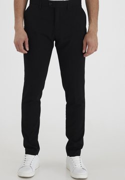 Casual Friday - PIHL SUIT PANTS - Puvunhousut - black