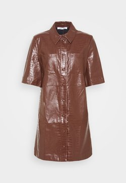 Samsøe Samsøe - MYLA DRESS - Robe d'été - chocolate fondant