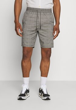 Only & Sons - ONSLINUS LIFE CHECK - Shorts - medium grey melange