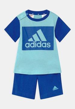 adidas Performance - SET  - Krótkie spodenki sportowe - hazy sky/team royal blue