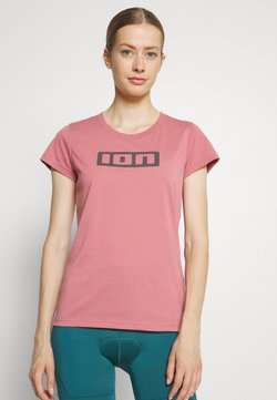 ION - TEE SEEK - T-shirt med print - dirty rose