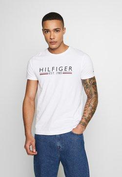 Tommy Hilfiger - TEE - T-shirt print - white