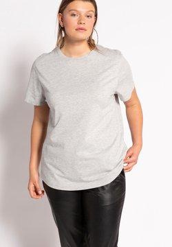 Studio Untold - T-shirt basic - gris clair chiné