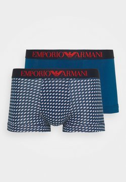 Emporio Armani - TRUNK 2 PACK - Shorty - blu navy