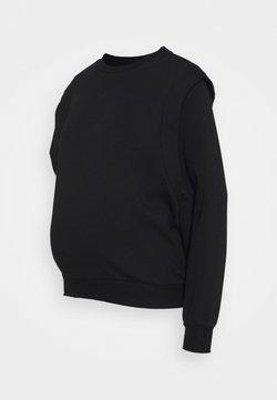 Pieces Maternity - PCMTVIGGA - Sweatshirt - black