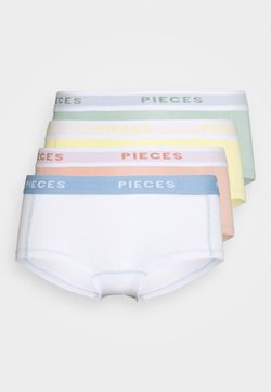 Pieces - PCLOGO LADY SOLID 4 PACK  - Panties - jadeite
