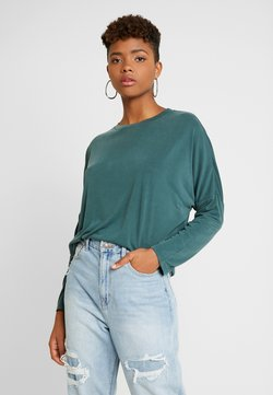 Monki - CLAUDIA - Bluzka z długim rękawem - green dark