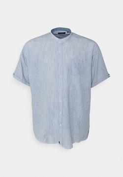 Shine Original - MANDARIN STRIPED SHIRT - Hemd - blue