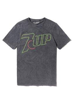 Re:Covered - 7UP NEON LOGO - T-shirt print - blau