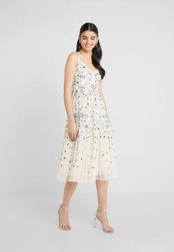 Needle & Thread - WILDFLOWER SEQUIN MIDI DRESS - Cocktail dress / Party dress - champagne