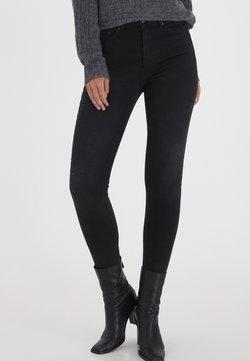 b.young - Jeans Slim Fit - black denim