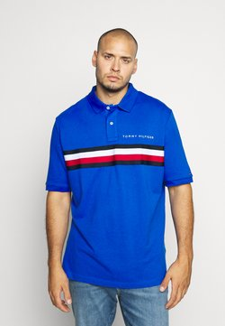 Tommy Hilfiger - GLOBAL CHEST TAPE - Polo - blue