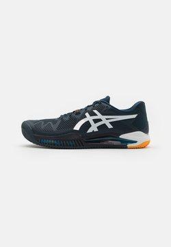 ASICS - GEL-RESOLUTION 8 CLAY - Zapatillas de tenis para tierra batida - french blue/white