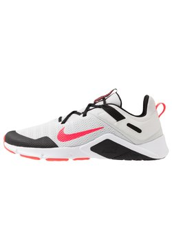 Nike Performance - LEGEND ESSENTIAL - Sports shoes - photon dust/laser crimson/black/white