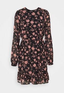 Vero Moda Tall - VMICY SHORT DRESS  - Vardagsklänning - black/icy