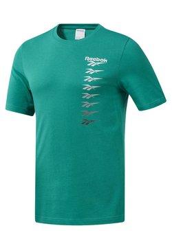 Reebok Classic - CLASSICS VECTOR TEE - T-Shirt print - green