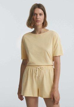 OYSHO - Nachtwäsche Shirt - light yellow