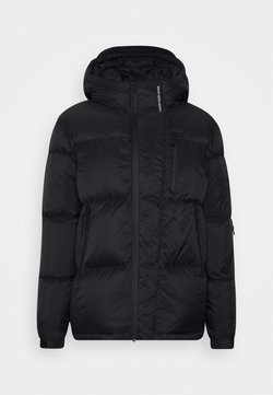 Calvin Klein Jeans - HIGH FILLED PUFFER - Daunenjacke - black