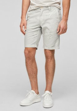 s.Oliver - Shorts - offwhite aop
