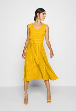 comma - Cocktailkleid/festliches Kleid - yellow