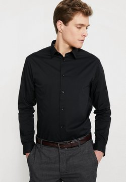 CELIO - MASANTAL - Businesshemd - noir