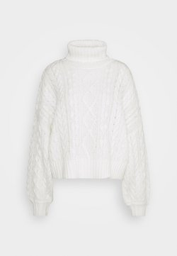 Gina Tricot - KELLY - Neule - offwhite