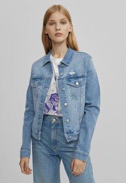 Bershka - Veste en jean - blue denim