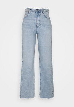 Gina Tricot - IDUN STRAIGHT  - Jeansy Straight Leg - blue