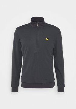 Lyle & Scott - WINDSHIELD 1/2 ZIP MIDLAYER - Sweatshirt - observer grey