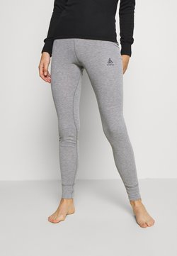 ODLO - BOTTOM LONG ACTIVE WARM ECO - Unterhose lang - grey melange