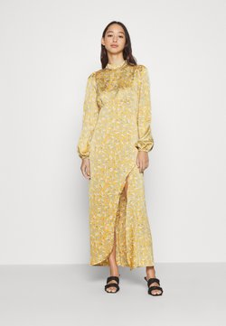 Never Fully Dressed - SIDE SPLIT PETAL PRINT MIDI - Maxi-jurk - multi