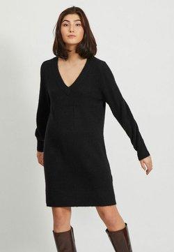Object - Vestido de punto - black