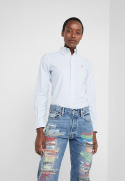 Polo Ralph Lauren - OXFORD KENDAL SLIM FIT - Button-down blouse - blue/white