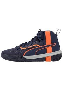 Puma - LEGACY MADNESS - Basketball shoes - dark blue/orange